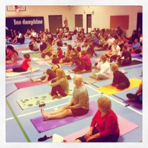 2012 community yoga event