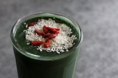 holiday gren smoothie