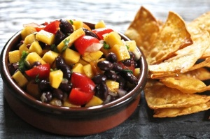 Mango-and-Black-Bean-Salsa