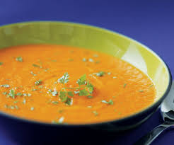 herbed carrot leek soup