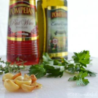Roasted Garlic vingaigrette