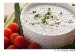 Feta yogurt dip