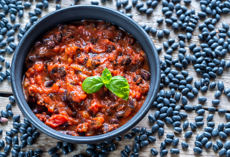 61303728 - black bean chili